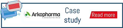 Button to download the Arkopharma case study
